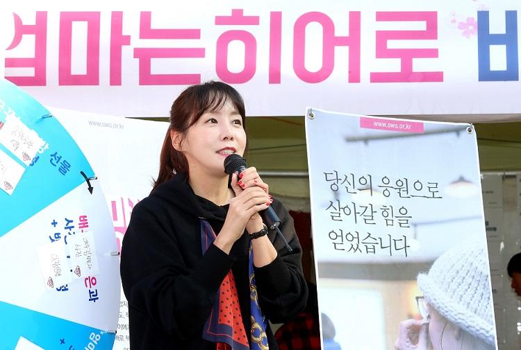 배우 김정은 미혼모 엄마는 히어로 뉴스리포트