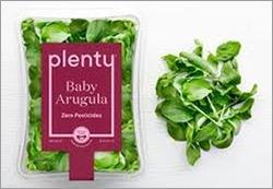 △미국내에서 시판 중인 스마트팜에서 재배된 야채(출처: plenty.ag)