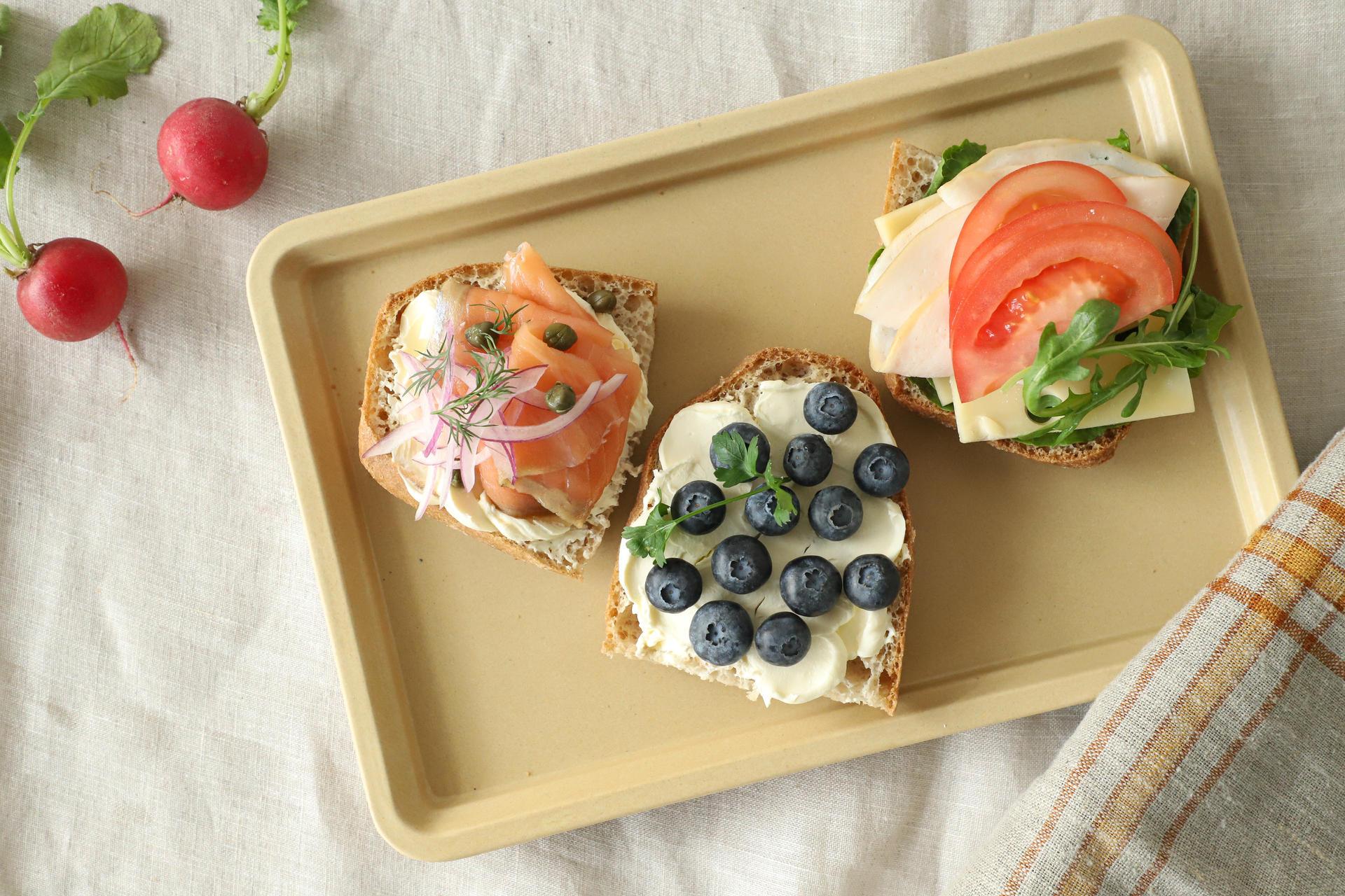 키토제닉 다이어트 레시피 오픈토스트