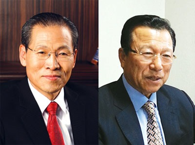 대전 한밭제일교회 이영환 목사와 미주한국기독교부흥협회 회장 지용덕 목사