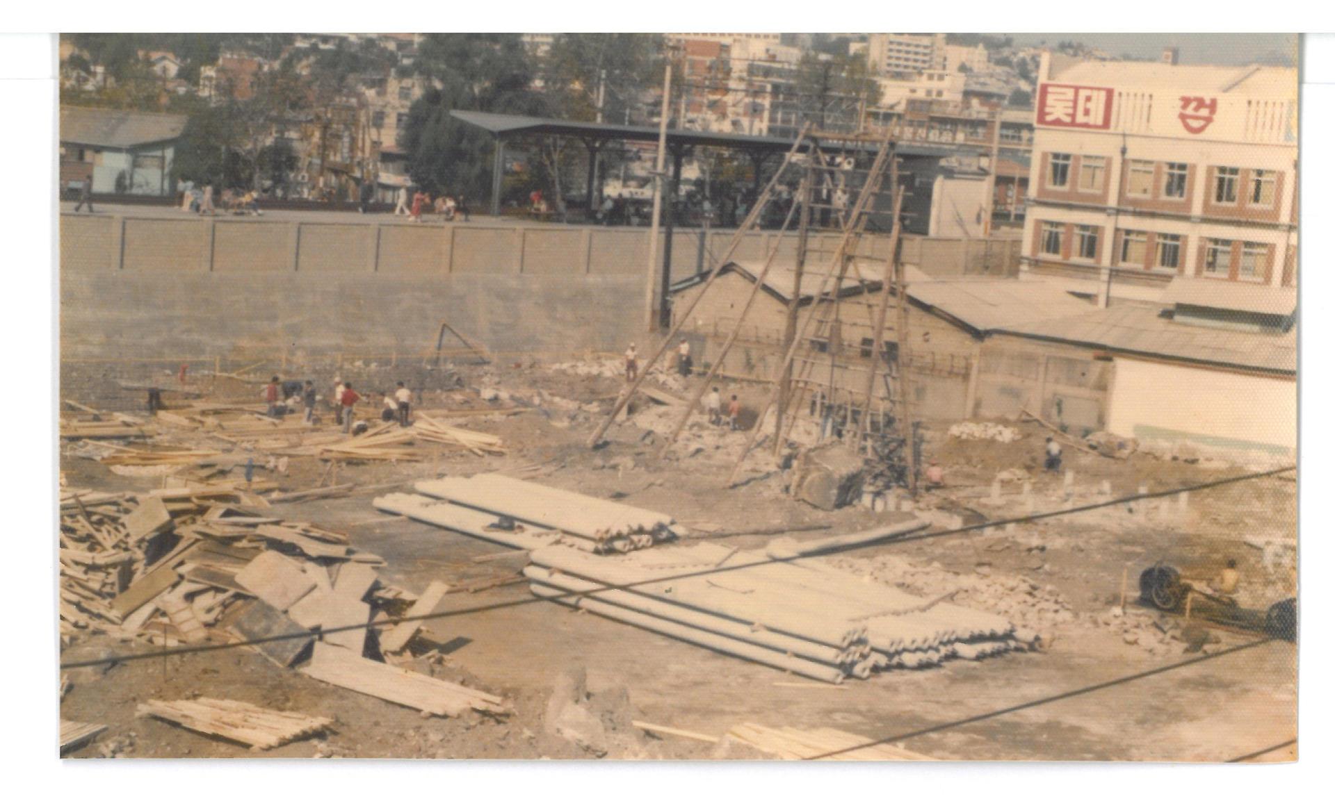 콘크리트 말뚝공사