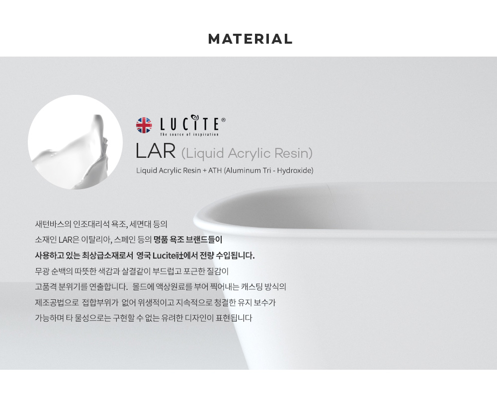 Material: Liquid Acrylic Resin + ATH (Manufacturer: UK Lucite)