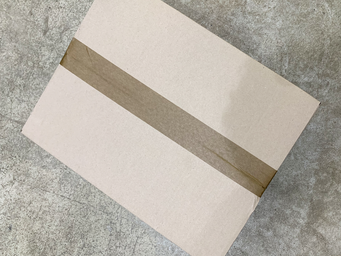 박스에 붙여있는채로 버려도 되는 종이 테이프