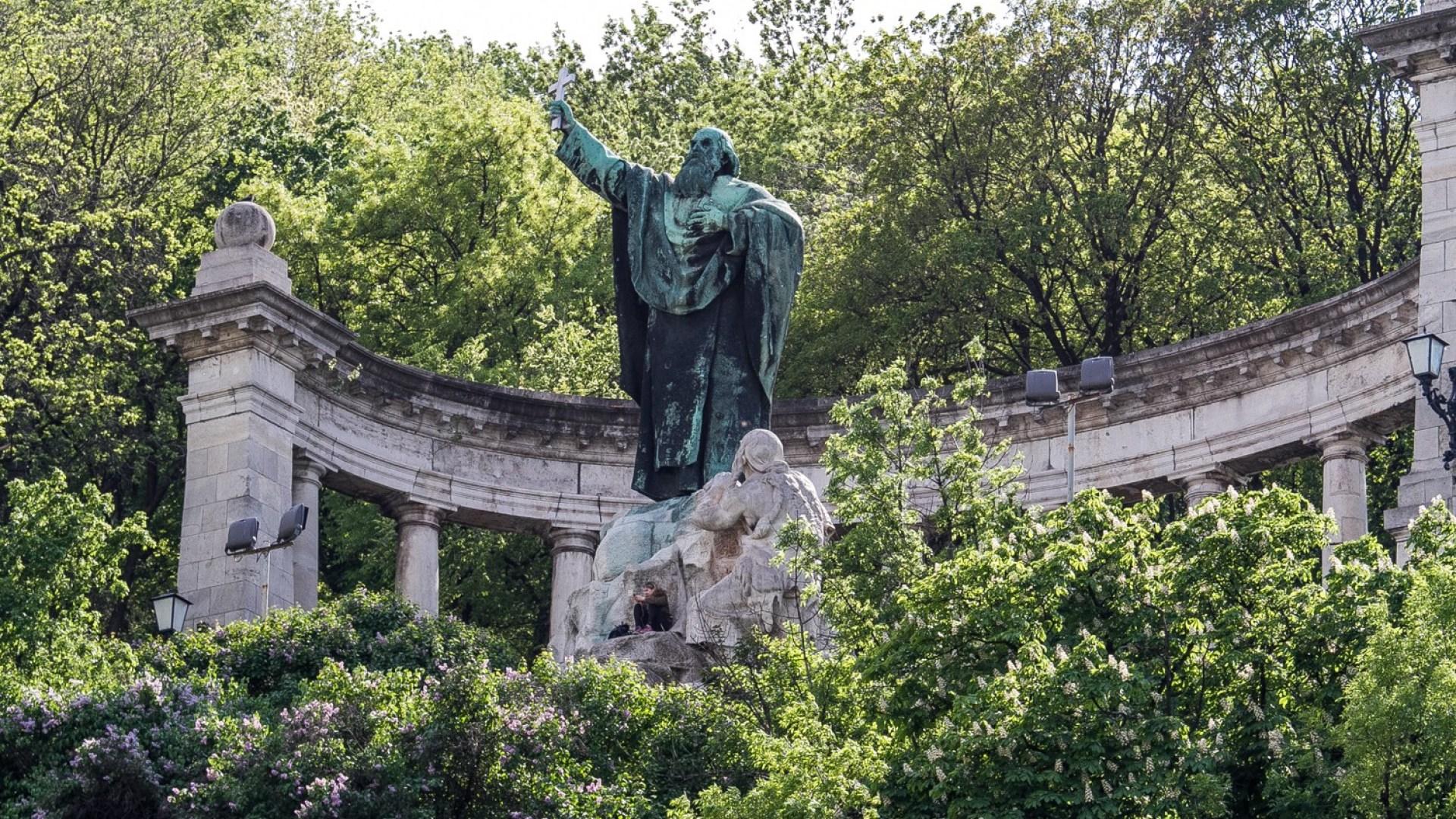 성 겔레르트 동상