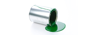 Biocera far-infrared agent solution applied to paint application.