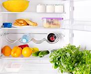 Biocera nano silver solution applied to refrigerator