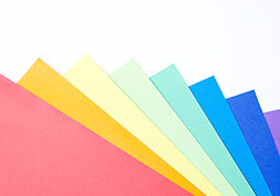 Biocera nano silver application for color antibacterial papers