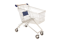 Biocera nano silver application for cart handle where many people touches