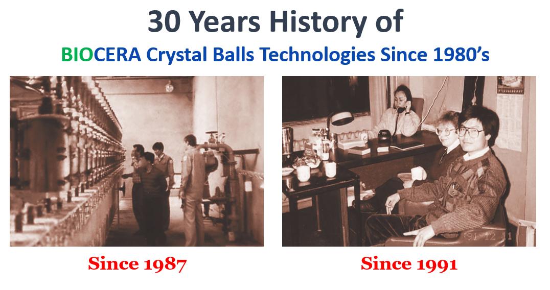 thirty years of Biocera history