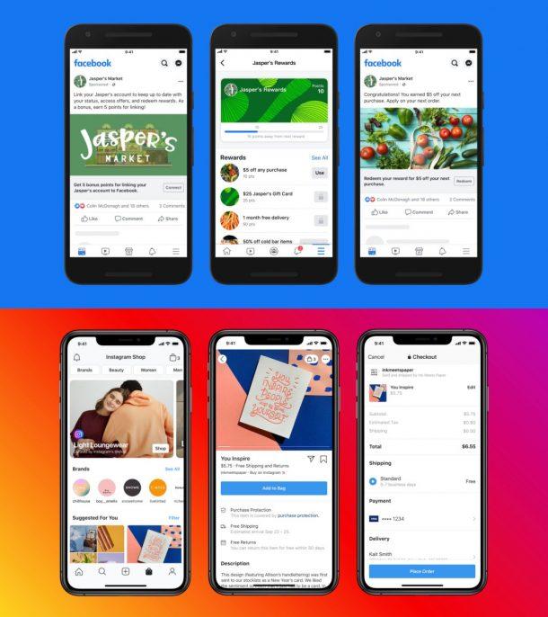 페이스북 샵스 - SNS마케팅 노노스
