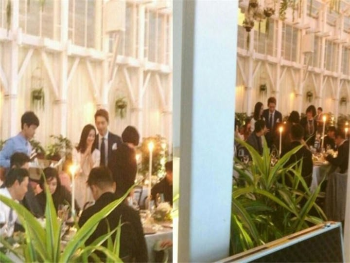 Rain和金泰希也在这宴客    图片来自:自由时报