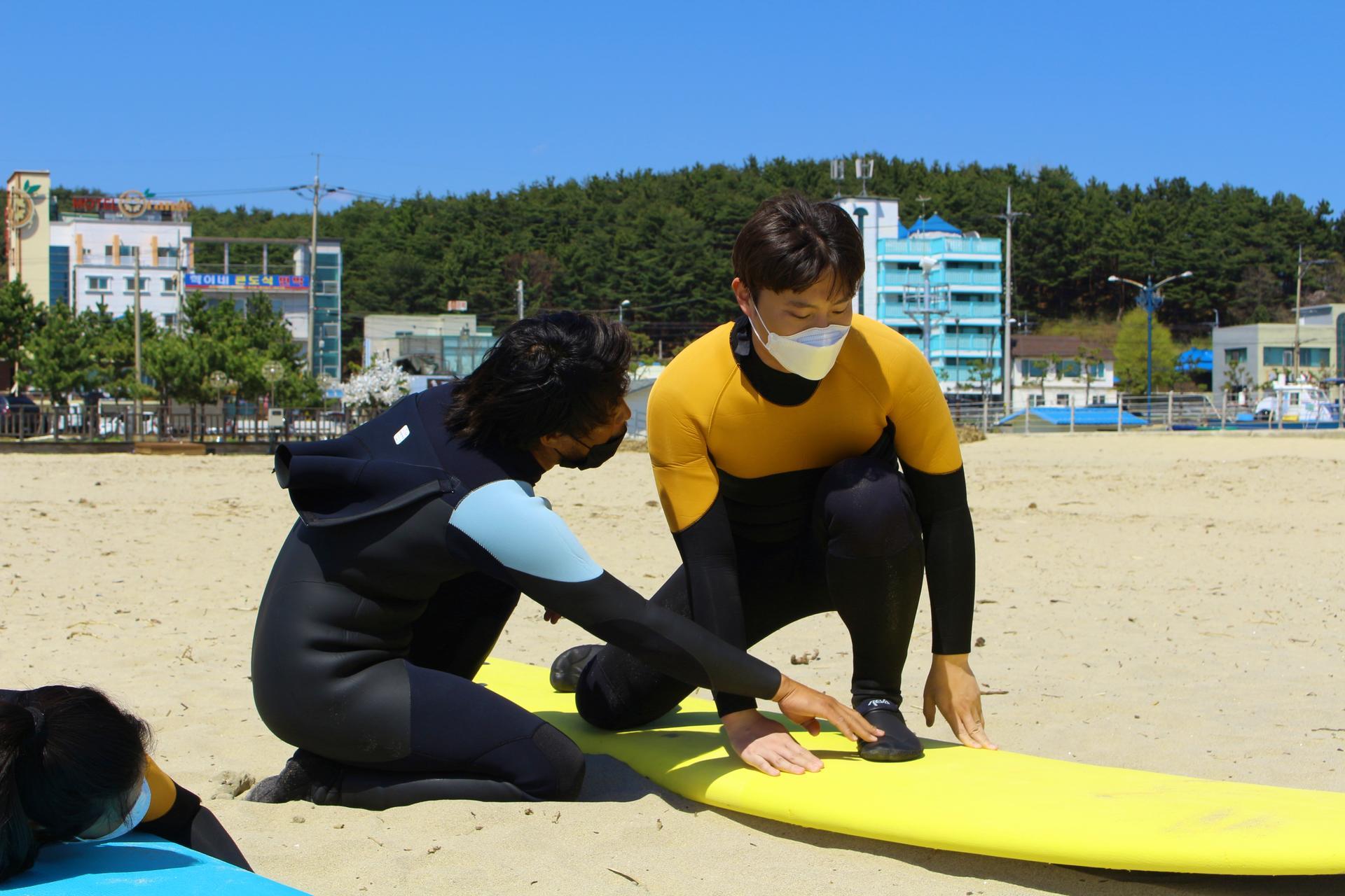 서핑 지상강습