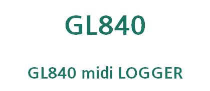 GL840 midi logger