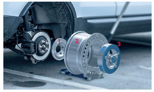 imc Wheel Force Transducer 승용차 SUV 테스트 벤치 큰 유연성