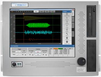 Synergy CS 16개 입력 모듈 지원 가능 오실로스코프