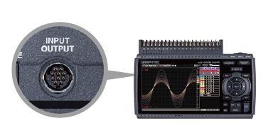 Logic 또는 Pulse 신호를 선택하여 4ch 입력 가능