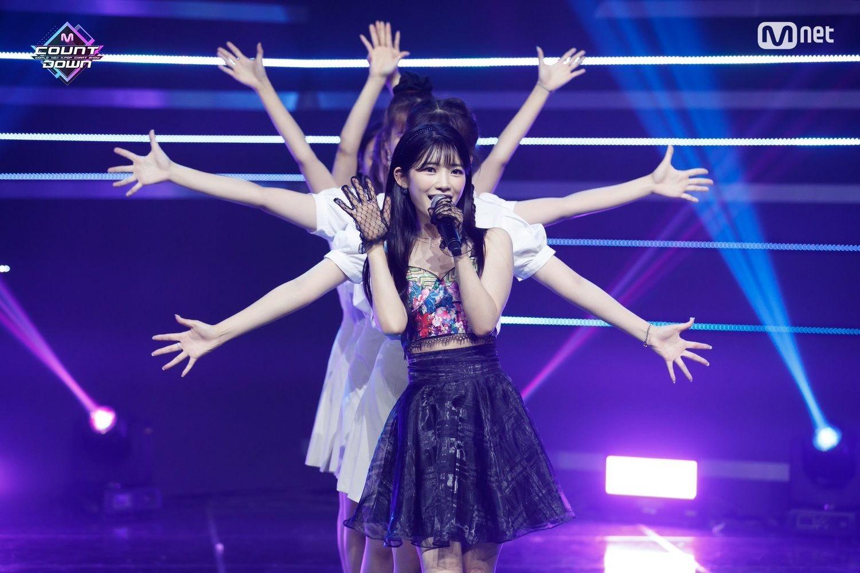 m.net『M COUNTDOWN』出演時のYUKIKAさん