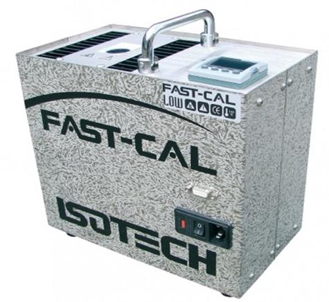빠른 속도의 휴대용 온도 교정 Dryblock 산업 현장용 FAST-CAL