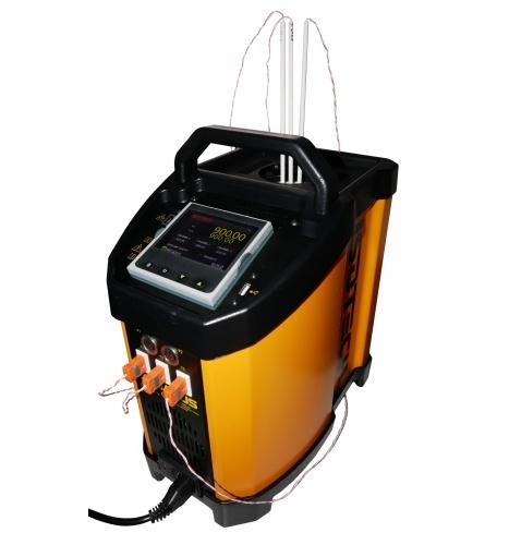 고온 열전대 교정, 중고온 온도교정 휴대용 Dryblock. 적외선 온도계 교정도 가능