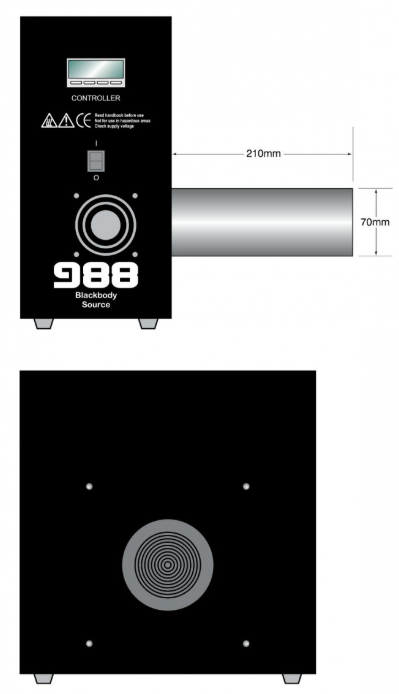 988 Blackbody Source Isotech Diagram