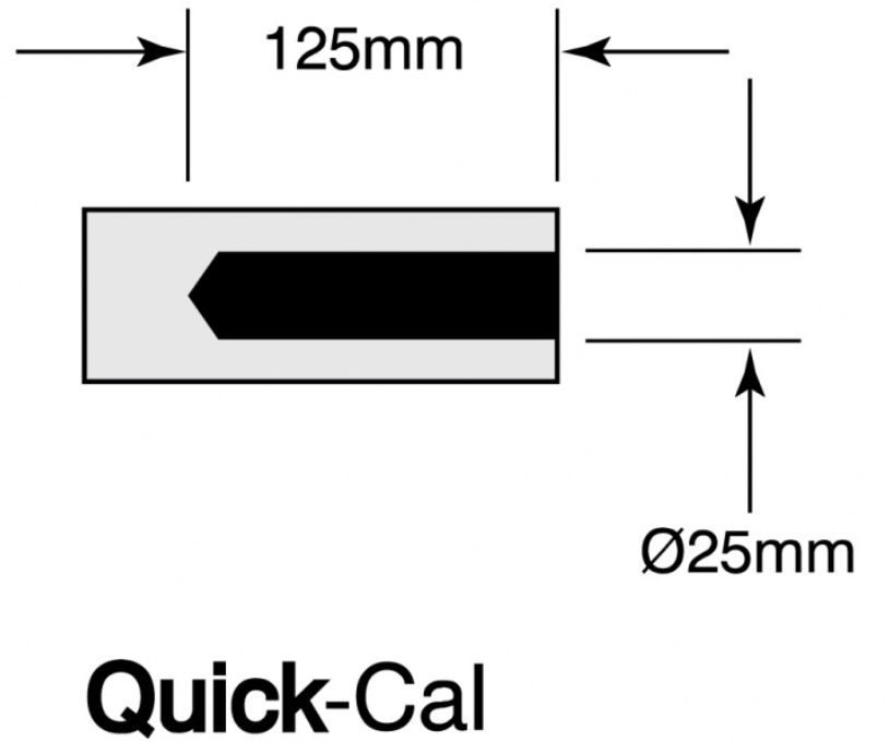 Quick-Cal Blackbody measurements