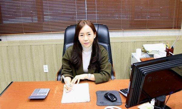 성진하이텍 대표이사 김은영.