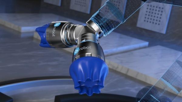 온로봇 듀얼 퀵 체인저에 장착된 소프트 그리퍼