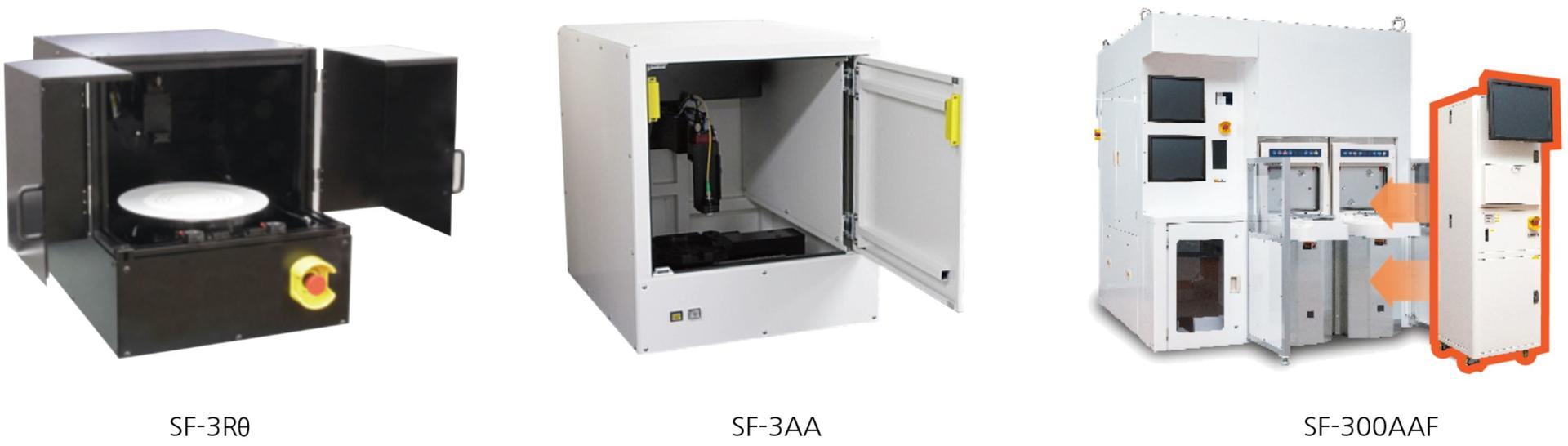 Product image: SF-3Rθ, SF-3AA and SF-300AAF