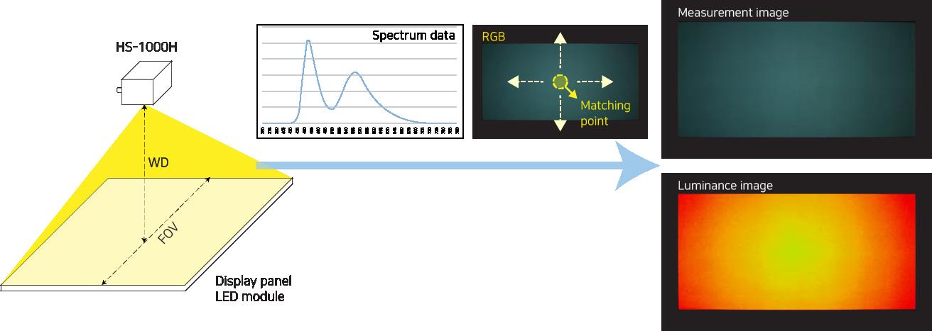 HS-1000H measurement process