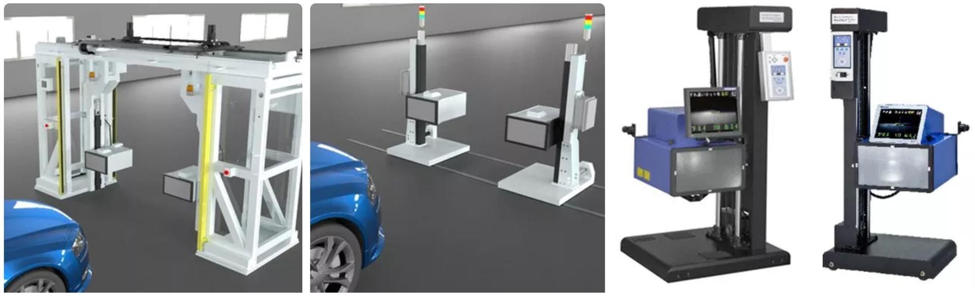 Setup images for production line and audit station