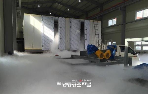 타이어파쇄용 -110℃ 다단 터널컨베이어