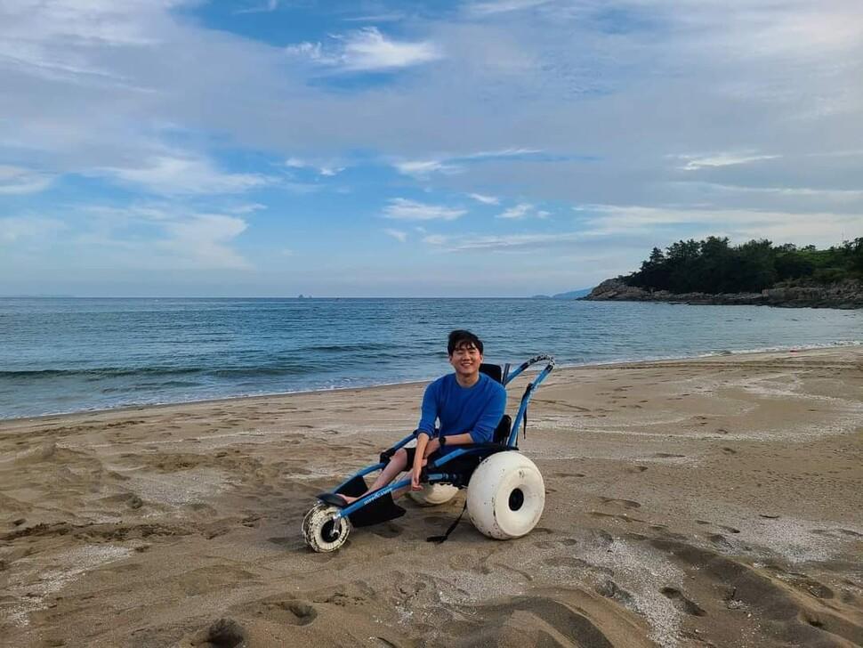 장애인 전문 여행사를 운영하는 신현오 무빙트립 대표.