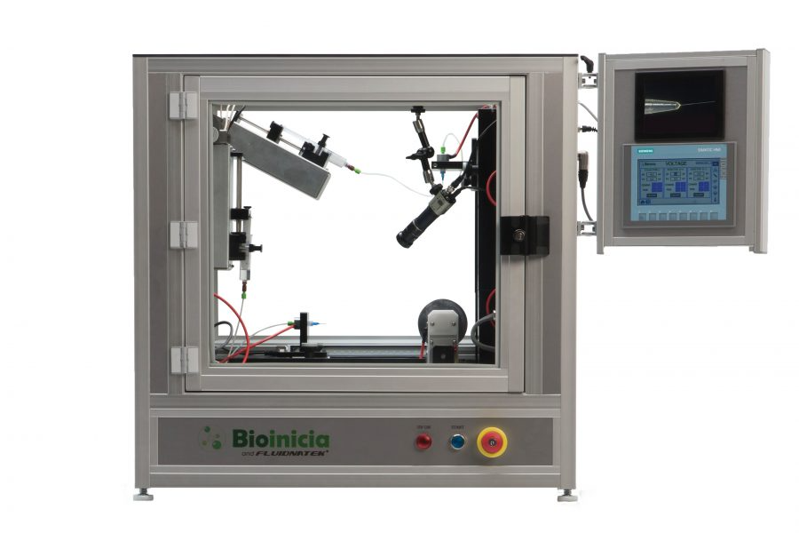 Product Image of the Fluidnatek LE-50 Electrospinning Machine