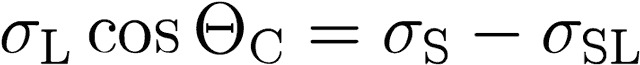 Young equation