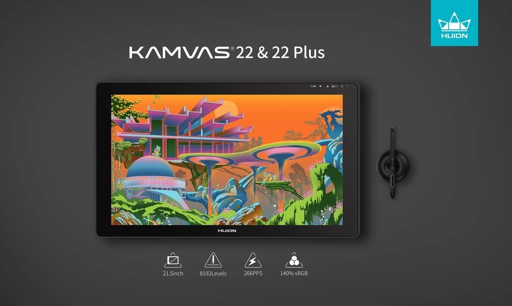Kamvas 22 & 22 Plus