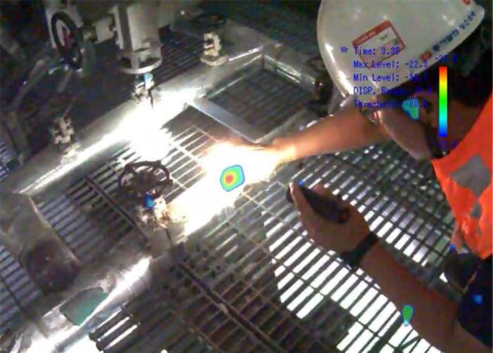 배트캠 2.0 가스 누출 검출 화면 캡쳐