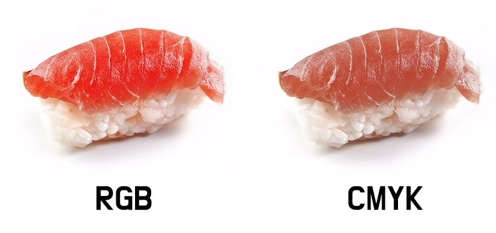 아주 유명한 사진인데요. 어떤 초밥이 더 먹음직스러운가요? 더 실물에 가까울까요?