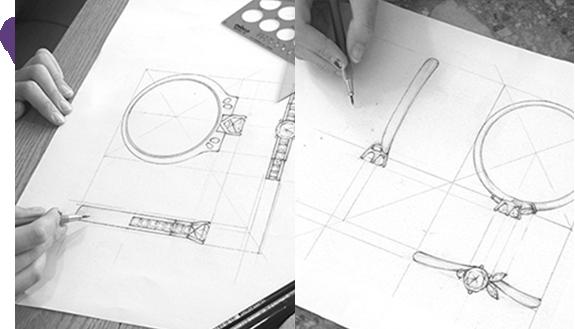 디자인 스케치 및 추천 관련 이미지