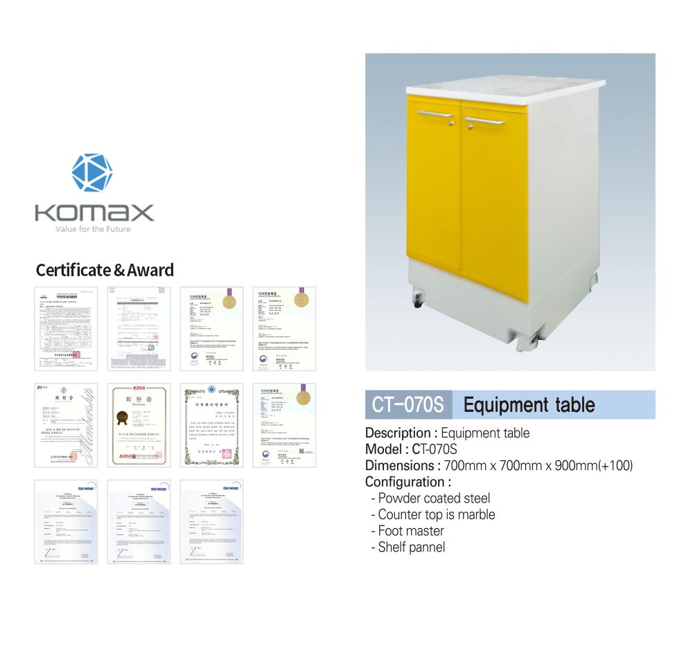 Dental equipment cabinet/