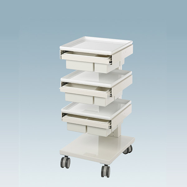 4 stage movable dental cabinet Korea