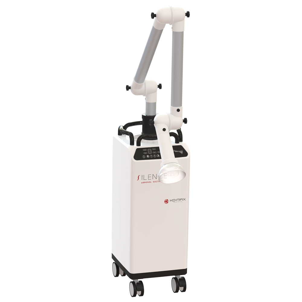 KO-MAX-dust collector-치과 집진기-국소배기-이동식 집진기-에어로졸 집진기-nail-extraoral-Aerosol-suction
