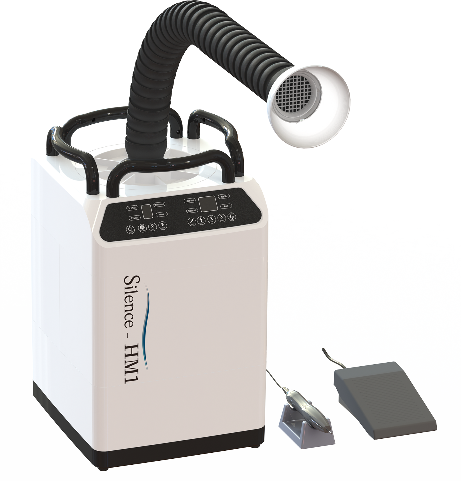 KO-MAX_Silence-A100_extraoral vacuum suction_Aerosol suction_dental dust collector_dermatology laser inhaler_dust collector_UVC LED sterilization_plasma sterilizer