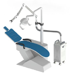 Free-500 chair-fixed dental extraoral suction