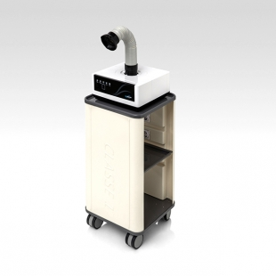 MC-100 Mobile dental lab dust collector