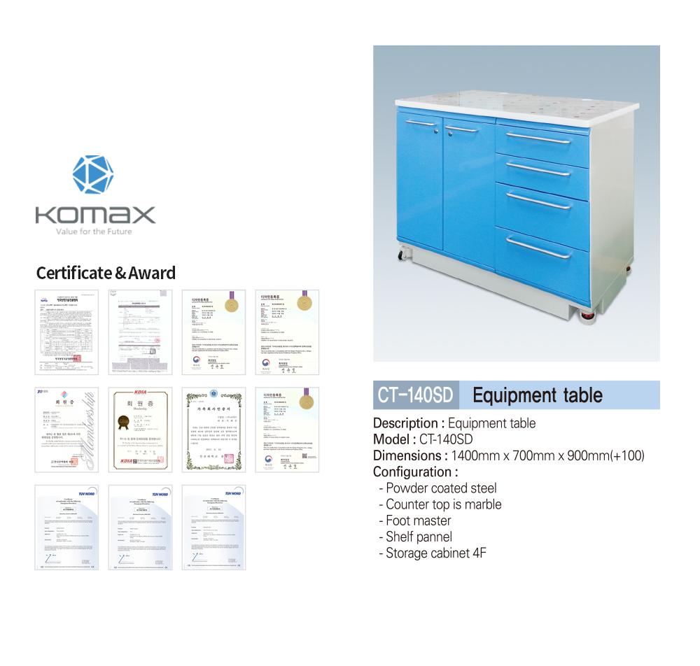 Dental equipment cabinet/table Korea