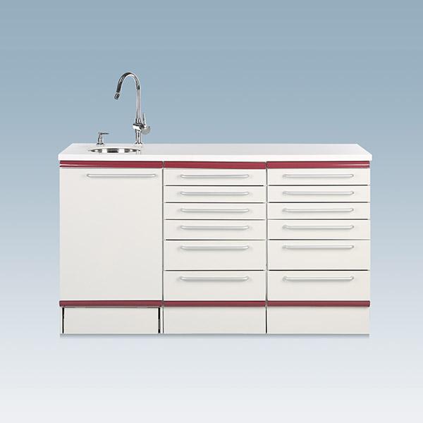Dental equipments and materials cabinet Korea