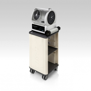 MC-400 Mobile dental lab dust collector