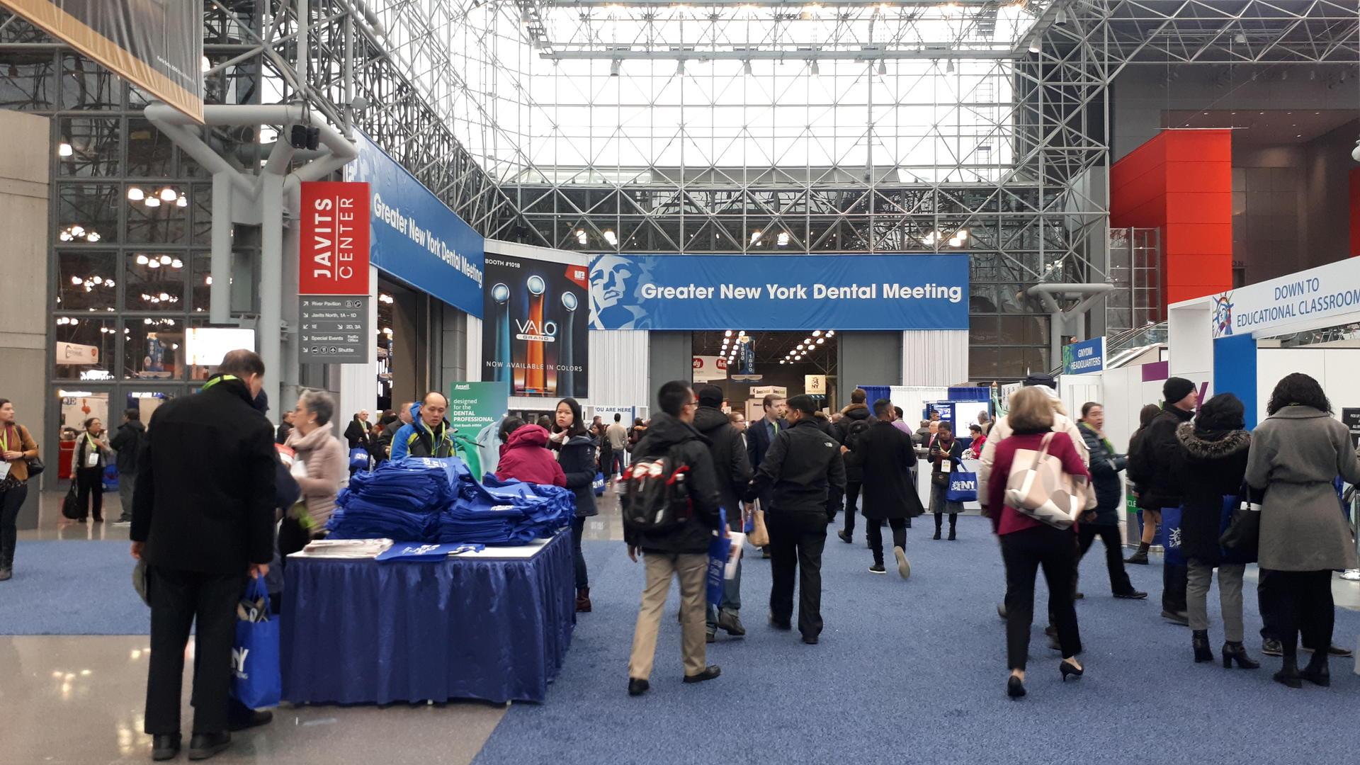 Exhibition Hall of GNYDM 2019