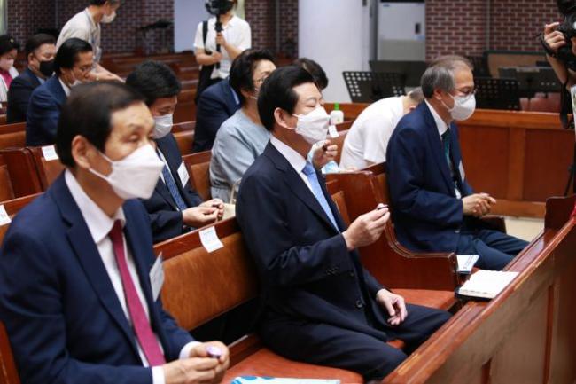 한국장로교의 날 기념예배 김종준 목사