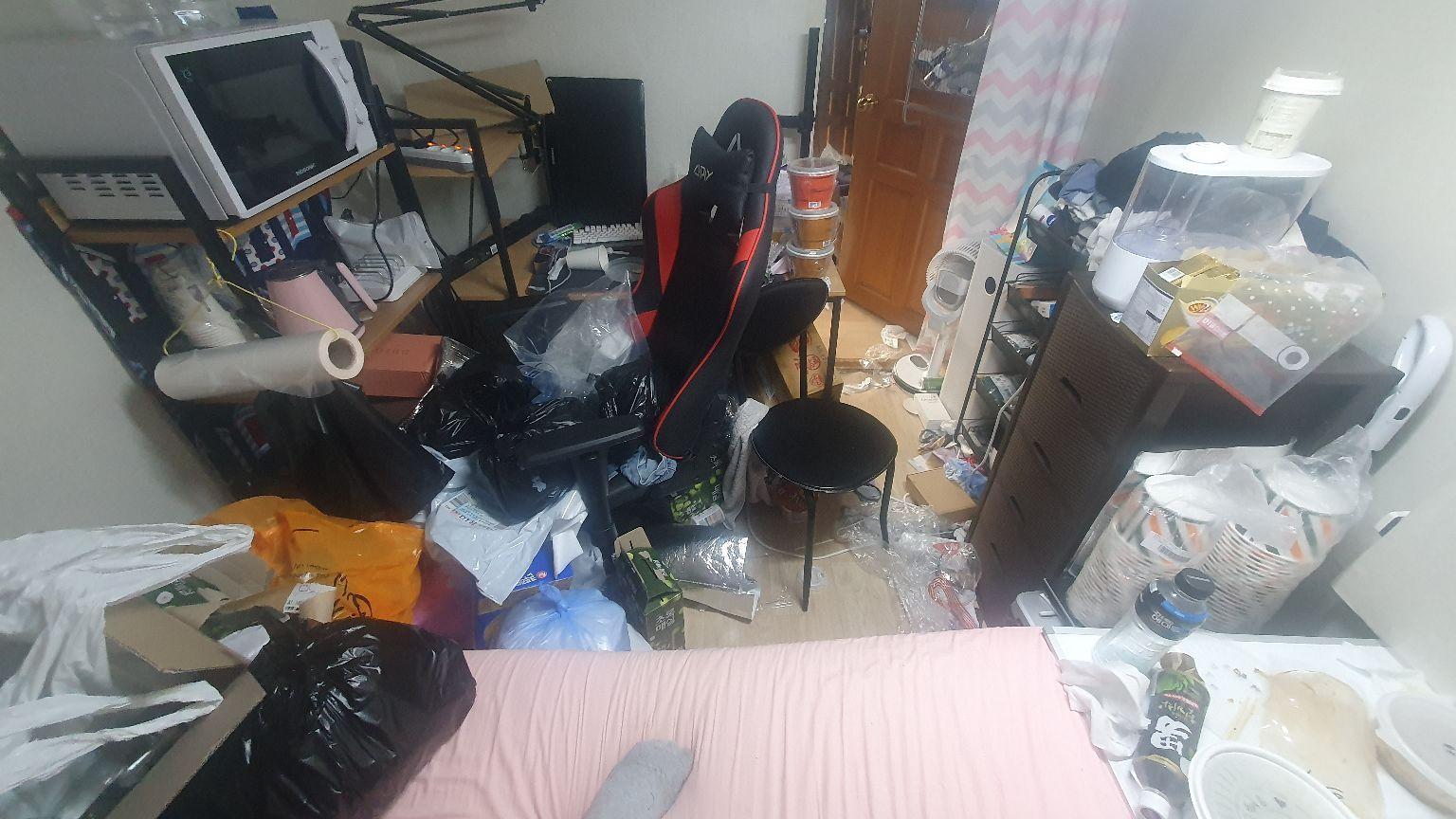 대전가정폐기물처리 전 사진, 우아한정리